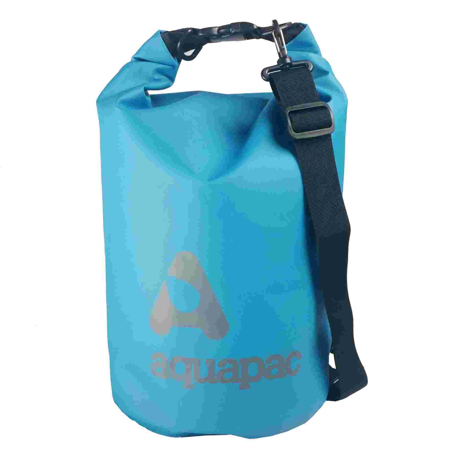 TrailProof™ Drybags mit Schultergurt 15 Liter cyan blau