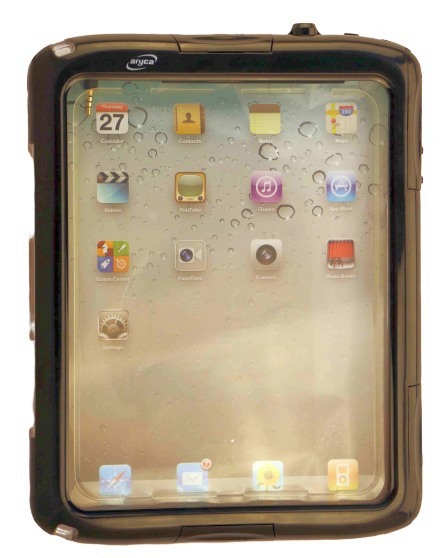 Aryca iPad Case mit Kopfhörerdurchgang