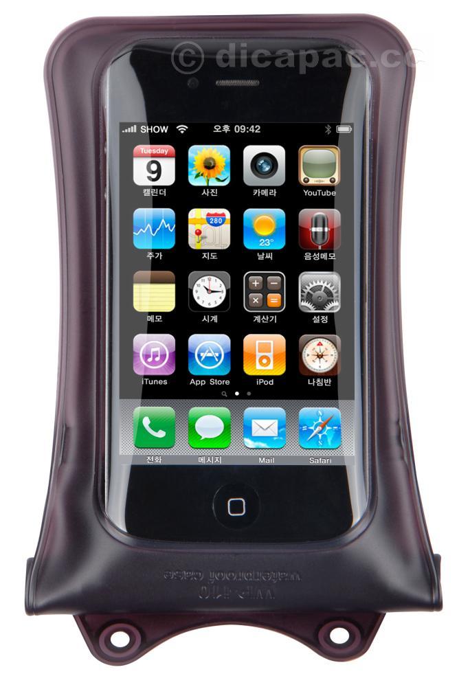 DiCAPac iPhone™-Tasche wasserdicht