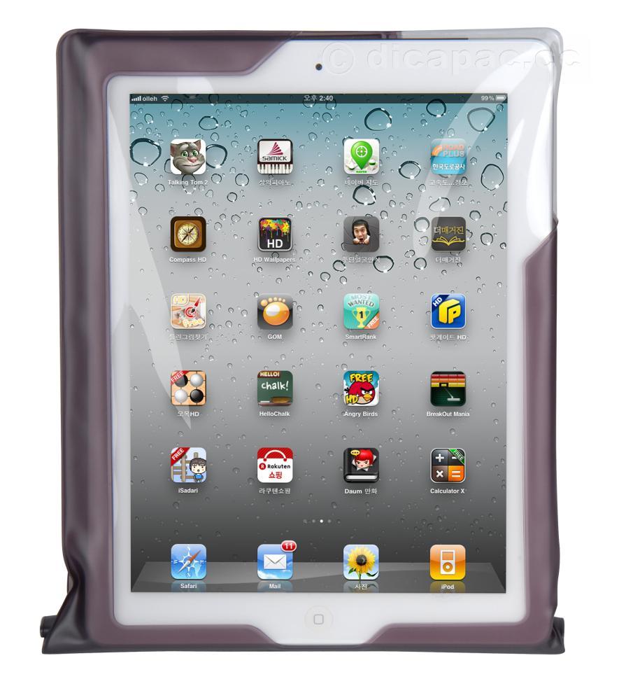 DiCAPac iPad™ Mini Tasche wasserdicht