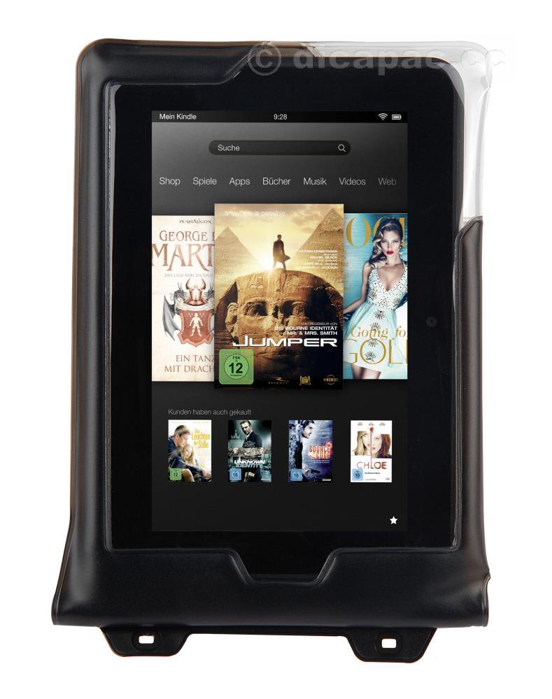 DiCAPac Mini Tablet-Tasche wasserdicht