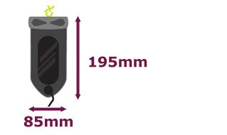 Aquapac iPod wasserdicht Maße außen